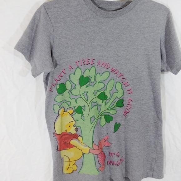 024ece99 Disney Tops   Womens Gray Winnie The Pooh Tshirt Medium   Poshmark